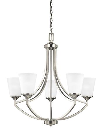 Sea Gull Lighting - Five Light Chandelier - 3124505BLE-962