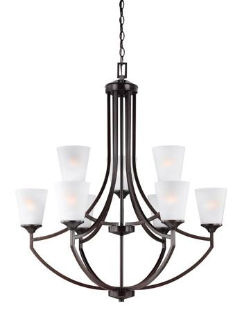 Sea Gull Lighting - Nine Light Chandelier - 3124509BLE-710