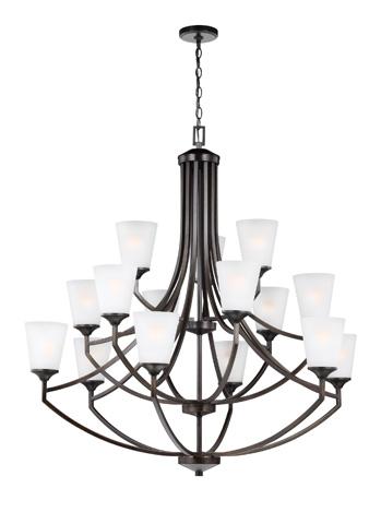 Sea Gull Lighting - Fifteen Light Chandelier - 3124515BLE-710