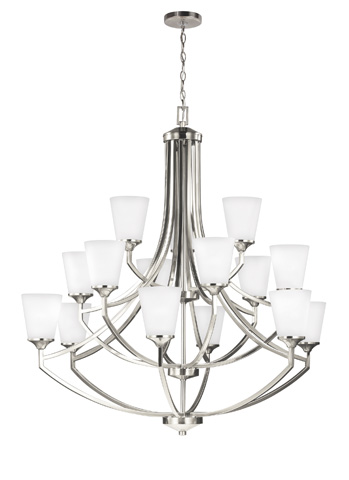 Sea Gull Lighting - Fifteen Light Chandelier - 3124515BLE-962