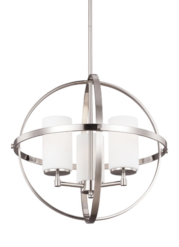 Sea Gull Lighting - Three Light Chandelier - 3124603-962