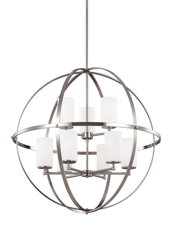 Sea Gull Lighting - Nine Light Chandelier - 3124609-962