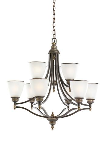 Sea Gull Lighting - Nine Light Chandelier - 31351-708