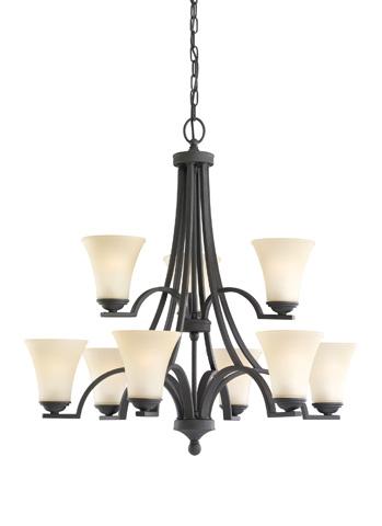 Sea Gull Lighting - Nine Light Chandelier - 31377BLE-839