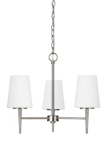 Sea Gull Lighting - Three Light Chandelier - 3140403BLE-962