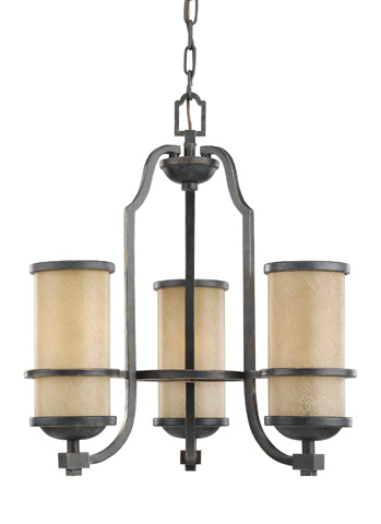 Sea Gull Lighting - Three Light Chandelier - 31520BLE-845