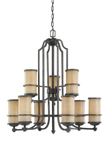 Sea Gull Lighting - Nine Light Chandelier - 31522-845
