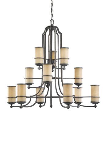 Sea Gull Lighting - Twelve Light Chandelier - 31523BLE-845