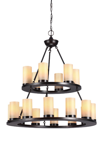 Sea Gull Lighting - Eighteen Light Chandelier - 31585BLE-710