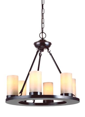 Sea Gull Lighting - Six Light Chandelier - 31586BLE-710