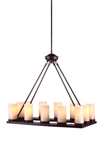 Sea Gull Lighting - Twelve Light Chandelier - 31588-710