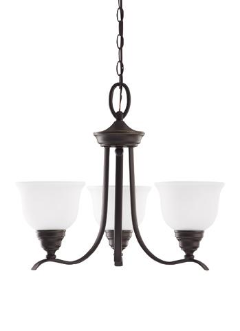 Sea Gull Lighting - Three Light Chandelier - 31625BLE-782