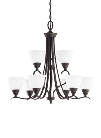 Sea Gull Lighting - Nine Light Chandelier - 31627-782