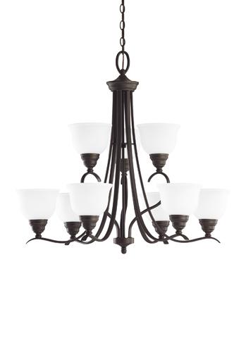 Sea Gull Lighting - Nine Light Chandelier - 31627BLE-782