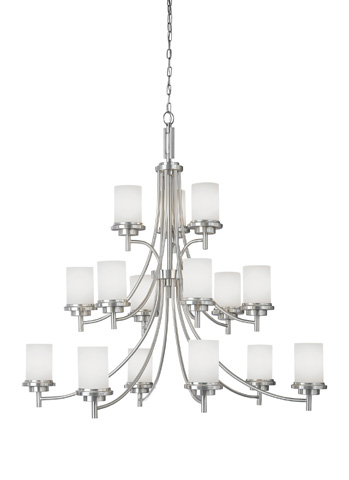 Sea Gull Lighting - Fifteen Light Chandelier - 31663BLE-962