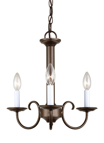 Sea Gull Lighting - Three Light Chandelier - 31807-827