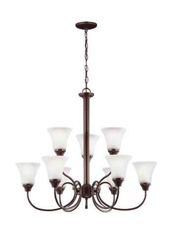 Sea Gull Lighting - Nine Light Chandelier - 31810-827