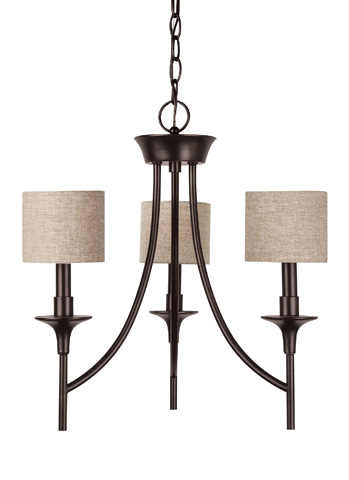 Sea Gull Lighting - Three Light Chandelier - 31932-710