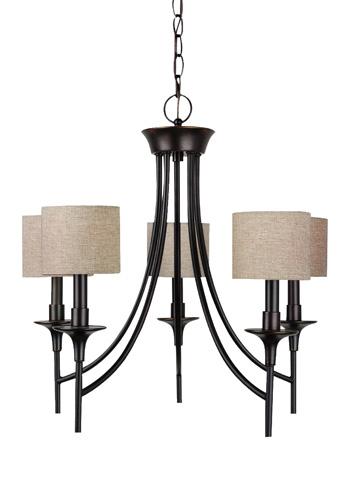 Sea Gull Lighting - Five Light Chandelier - 31942-710