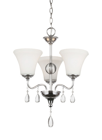 Sea Gull Lighting - Three Light Chandelier - 3210503BLE-05