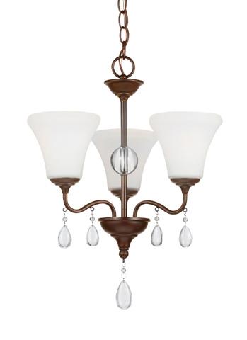 Sea Gull Lighting - Three Light Chandelier - 3210503BLE-710