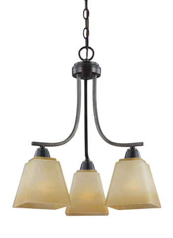 Sea Gull Lighting - Three Light Chandelier - 3213003-845