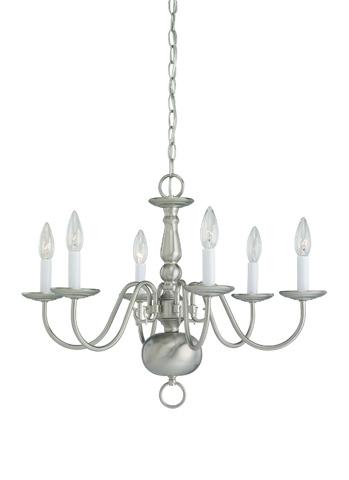 Sea Gull Lighting - Six Light Chandelier - 3411-962