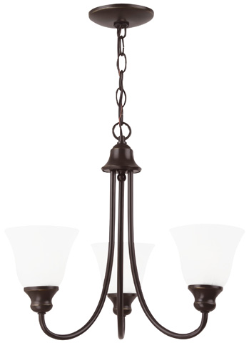 Sea Gull Lighting - Three Light Chandelier - 35939-782
