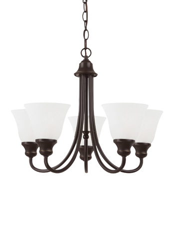 Sea Gull Lighting - Five Light Chandelier - 35940BLE-782