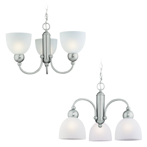 Sea Gull Lighting - Three Light Chandelier - 39035BLE-962
