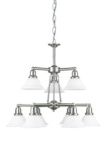 Sea Gull Lighting - Nine Light Chandelier - 39063BLE-962