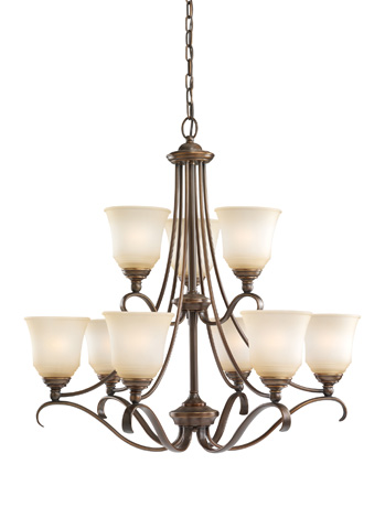 Sea Gull Lighting - Nine Light Chandelier - 39381BLE-829