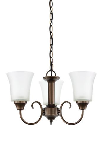 Sea Gull Lighting - Three Light Chandelier - 39806BLE-827