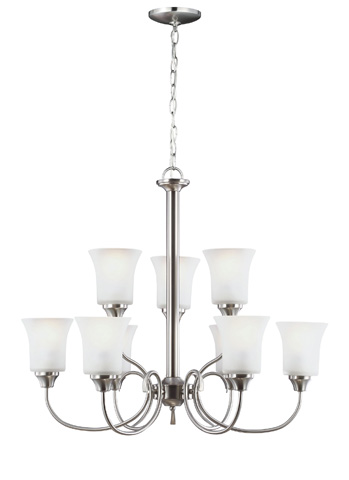 Image of Nine Light Chandelier