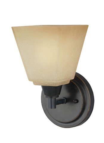 Sea Gull Lighting - One Light Wall / Bath Sconce - 4113001BLE-845