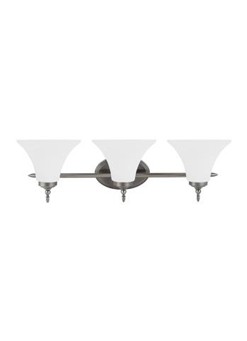 Sea Gull Lighting - Three Light Wall / Bath Sconce - 41182BLE-965