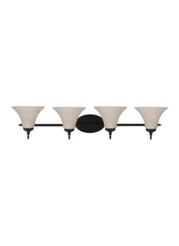 Sea Gull Lighting - Four Light Wall / Bath Sconce - 41183-710