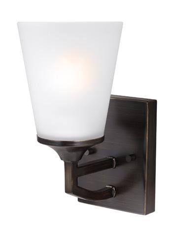 Sea Gull Lighting - One Light Wall / Bath Sconce - 4124501BLE-710