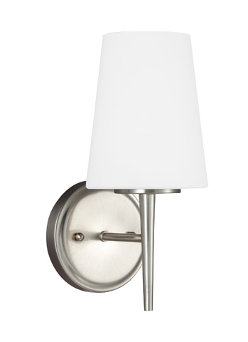 Sea Gull Lighting - One Light Wall / Bath Sconce - 4140401-962