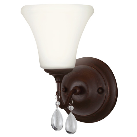 Sea Gull Lighting - One Light Wall / Bath Sconce - 4410501BLE-710