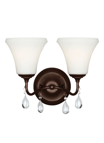 Sea Gull Lighting - Two Light Wall / Bath Sconce - 4410502-710