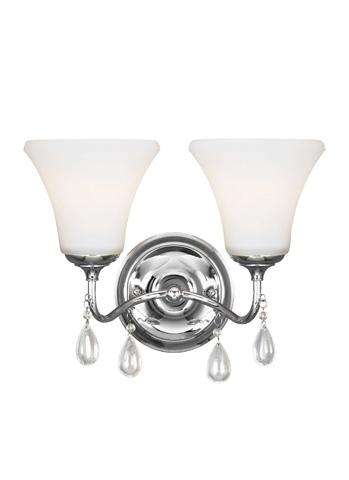 Sea Gull Lighting - Two Light Wall / Bath Sconce - 4410502BLE-05
