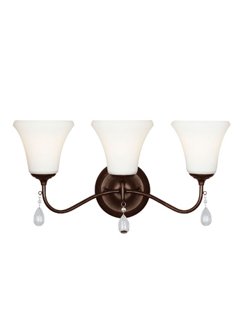 Sea Gull Lighting - Three Light Wall / Bath Sconce - 4410503BLE-710