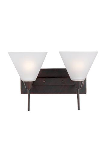 Sea Gull Lighting - Two Light Wall / Bath Sconce - 4411202BLE-710