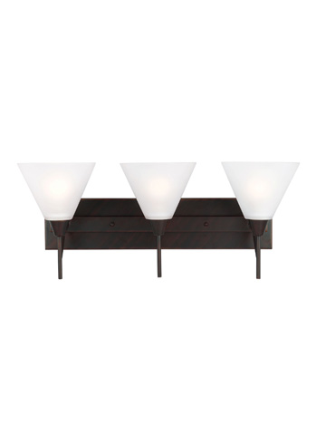 Sea Gull Lighting - Three Light Wall / Bath Sconce - 4411203-710