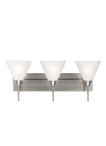 Sea Gull Lighting - Three Light Wall / Bath Sconce - 4411203-962