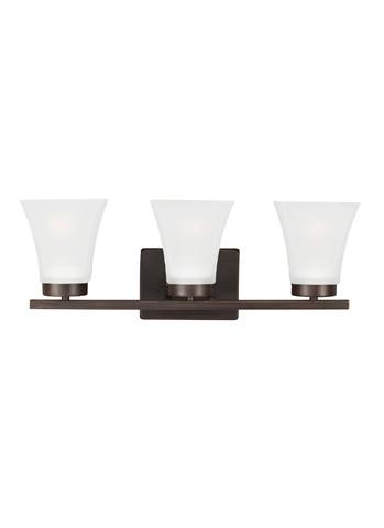 Sea Gull Lighting - Three Light Wall / Bath Sconce - 4411603BLE-710