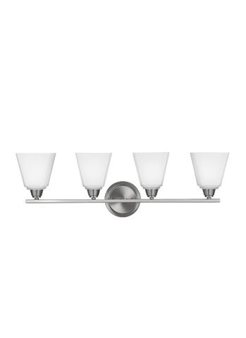 Sea Gull Lighting - Four Light Wall / Bath Sconce - 4413004-962