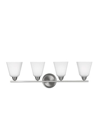 Sea Gull Lighting - Four Light Wall / Bath Sconce - 4413004BLE-962