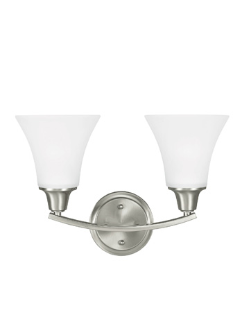 Sea Gull Lighting - Two Light Wall / Bath Sconce - 4413202BLE-962